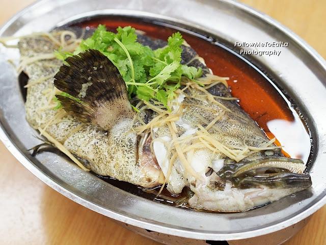 Soya Sauce Steamed Fish