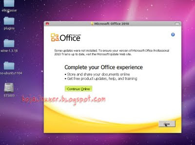 Office 2010 in Ubuntu
