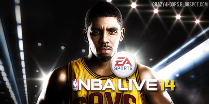 Kyrie Irving Announced as the Cover Athlete for NBA LIVE 14