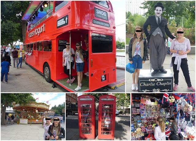 londres, bus anglais, charlie chaplin, minimalisme