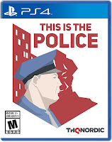 This is the Police Game PS4 Cover