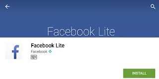 Aplikasi FB Lite Versi Terbaru
