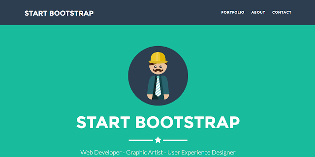 Freelancer A one page Bootstrap portfolio theme