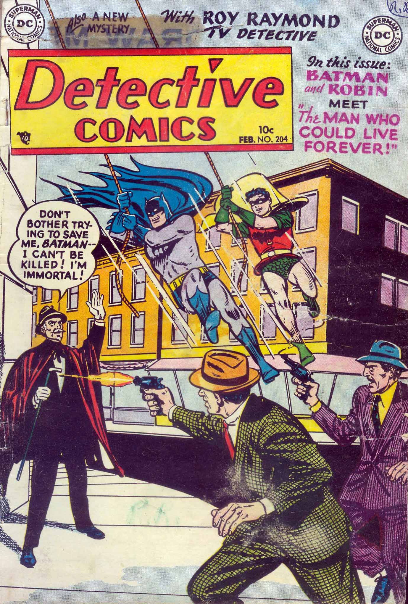 Read online Detective Comics (1937) comic -  Issue #204 - 1