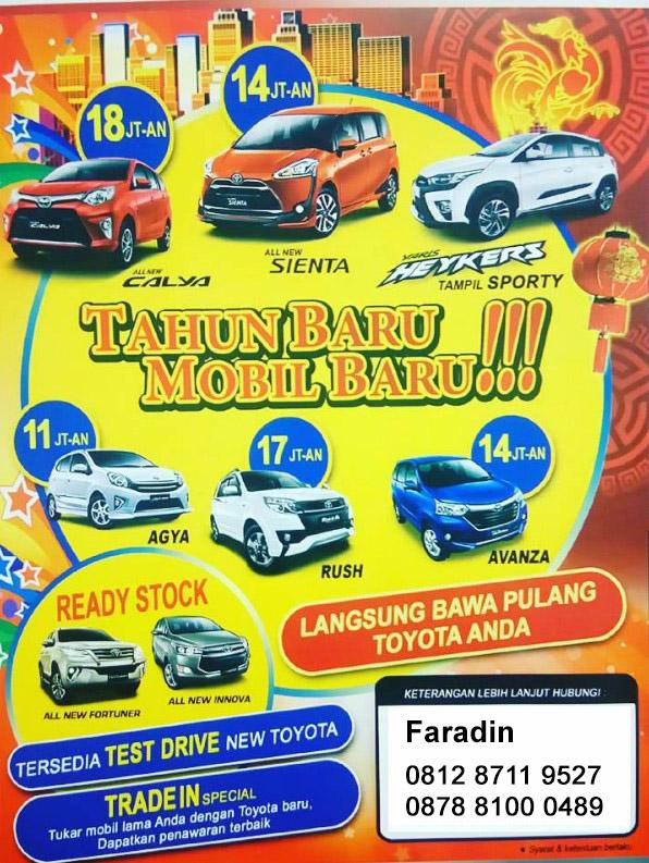 Promo Toyota Tebet Simatupang
