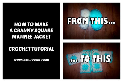 How To Make A Matinee Jacket From Granny Squares