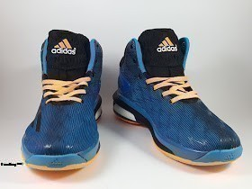 Sepatu Basket Adidas Crazylight Boost 2014 Blue Yellow