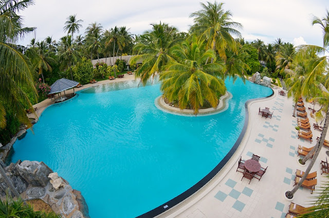 Sun Island Malediven, Infinity Pool