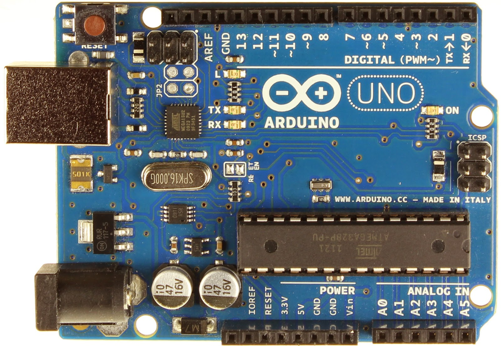 Turn on LED On/Off from internet using Arduino UNO R3 based