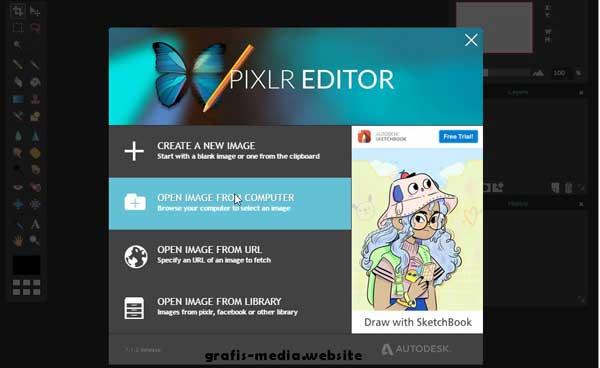 blog yang membahasa seputar tutorial edit foto Cara menciptakan karikatur online dengan pixlr editor