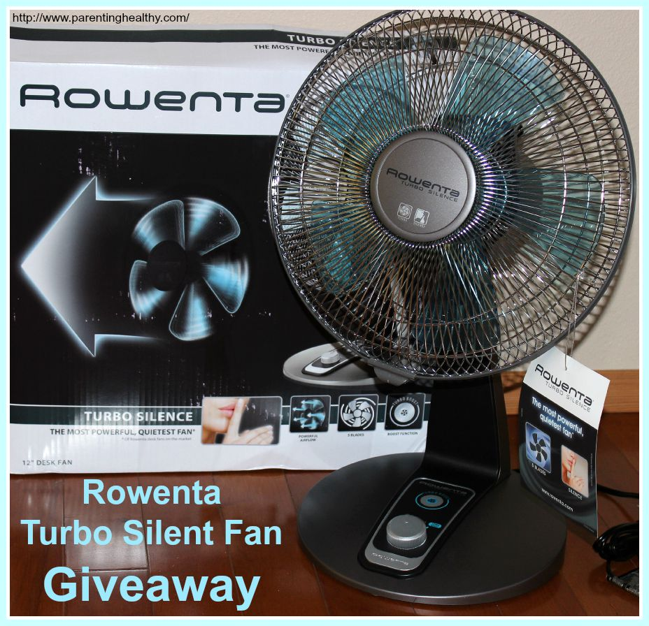 You Will Stay Cool With The Rowenta Turbo Silence Fan And