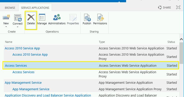 delete%2Bservice%2Bapplication%2Bin%2Bsharepoint%2B2013 - Sharepoint 2016 Service Applications List