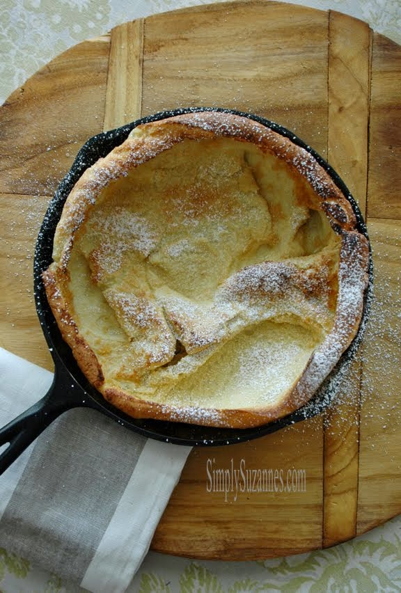 oven baked pancake