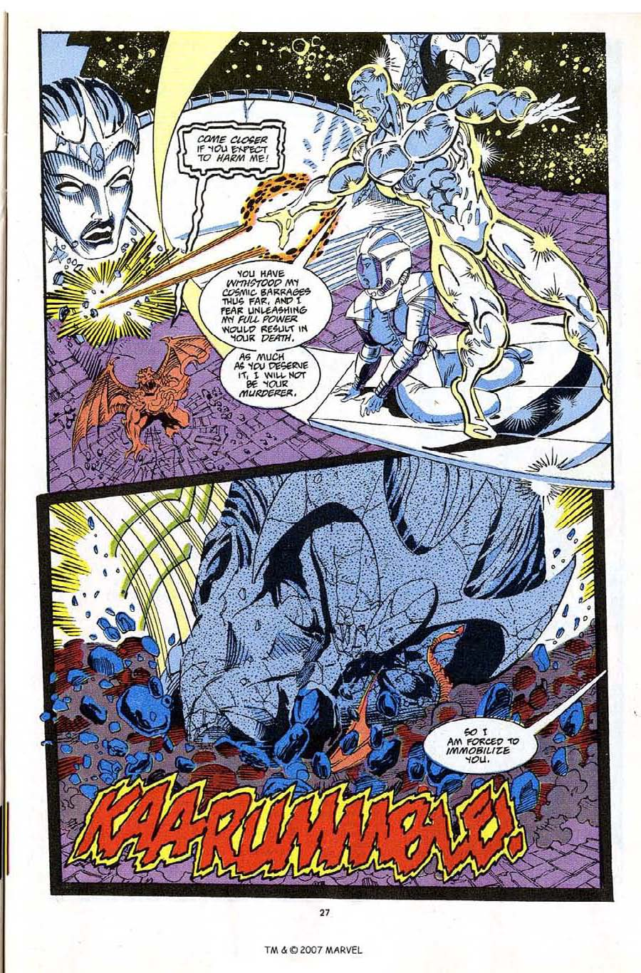 Read online Silver Surfer (1987) comic -  Issue #65 - 29