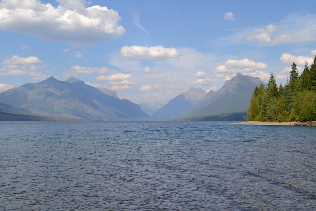 Національний Парк Глейшир: озерo МакДональд (Lake McDonald, Glacier National Park, MT)