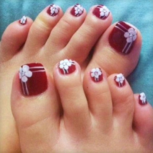 Best Fashion: Toe Nail Art Designs