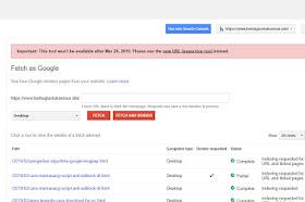 Hari Ini Google Search Console Update - Alat Inspeksi URL Baru
