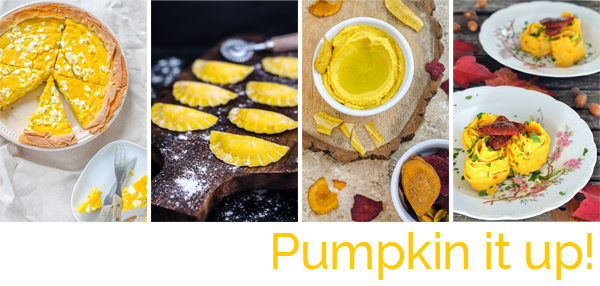 Pumpkin it up Kürbisrezepte für den Herbst