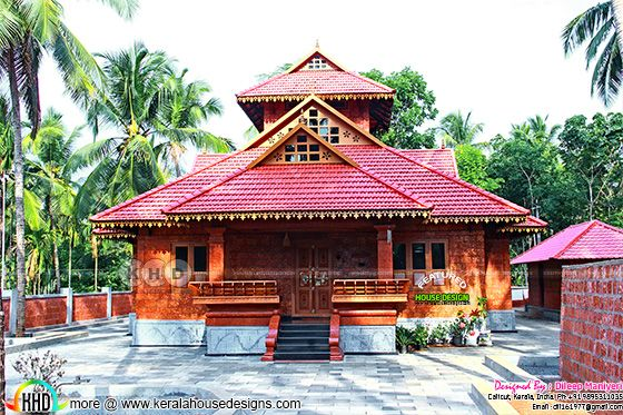 Construction finished traditional Kerala house