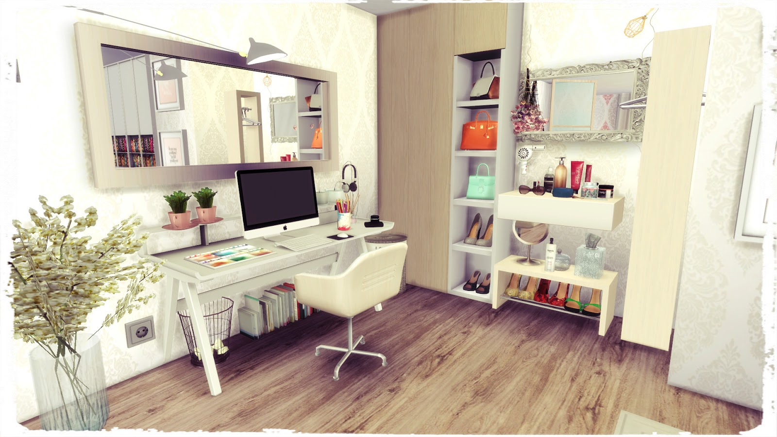 Sims 4 youtuber bedroom dinha - Image for bed room ...