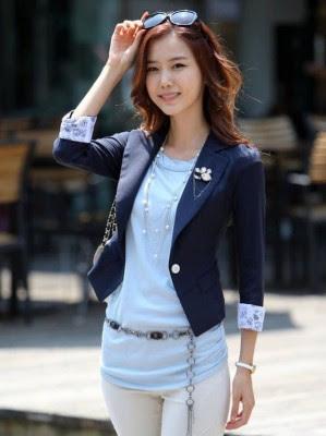 Contoh Desain Pakaian Atasan Wanita Modern Terbaru