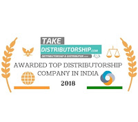 Awarded top distributorship company in india