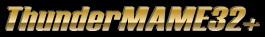 EmuCR: ThunderMAME32+