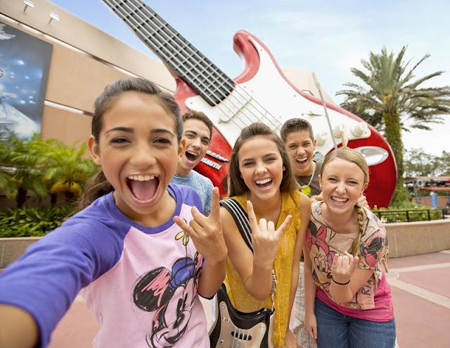 Adolescentes na Disney