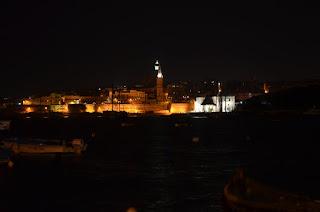 Valletta, Malta historic city night