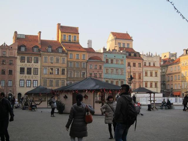 Place du marché Varsovie