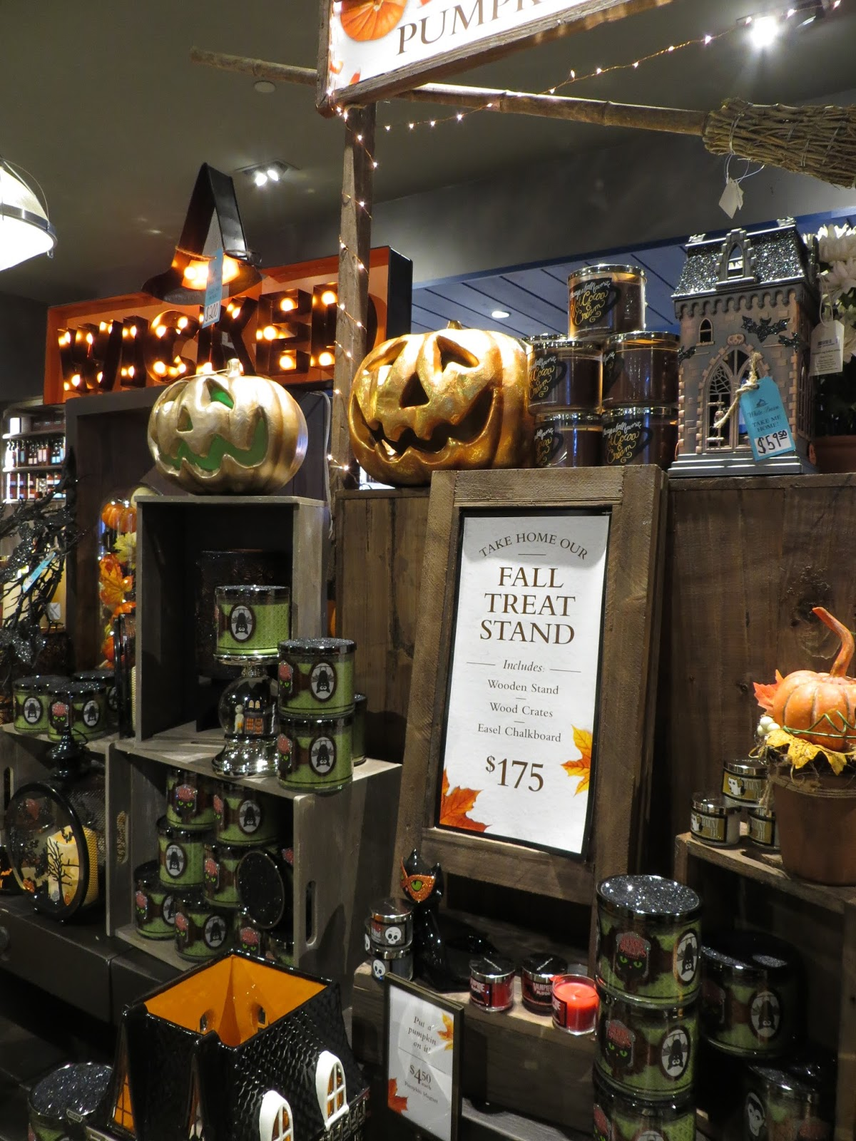 another store in the mall that was ready for halloween was restoration hardware if you dont know about this store theres a clue to what theyre all - Restoration Hardware Halloween