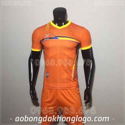 Áo bóng đá không logo Zavikia HAT Zavi mau cam