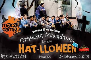 Orquesta Macadamia en Bogotá | Fiesta Pre-Halloween