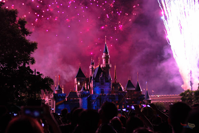 Magical Fireworks in Disneyland, Hong Kong