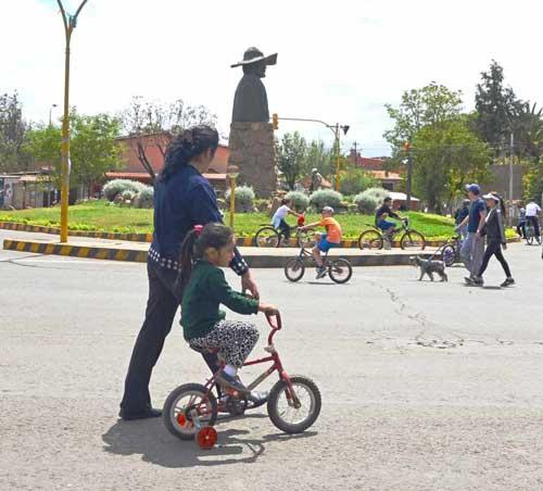El Municipio de Tarija alista una ley para ampliar el día del peatón