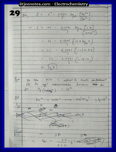 Electrochemistry Notes13