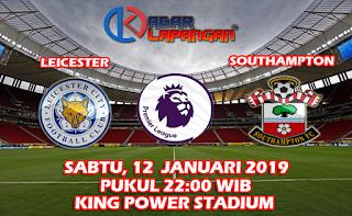 Prediksi Bola Leicester City vs Southampton 12 Januari 2019