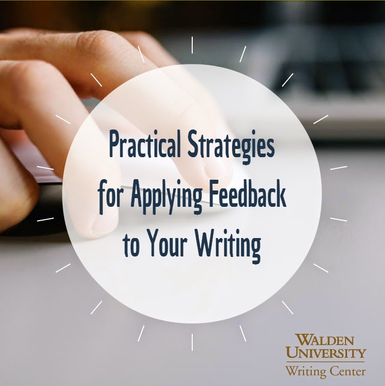 practical strategies for applying feedback to your writing