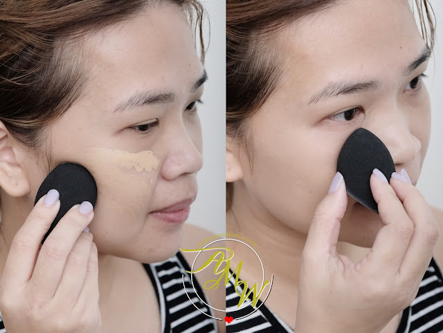 a photo of Estee Lauder Double Wear Stay-in-place makeup review in Warm Creme