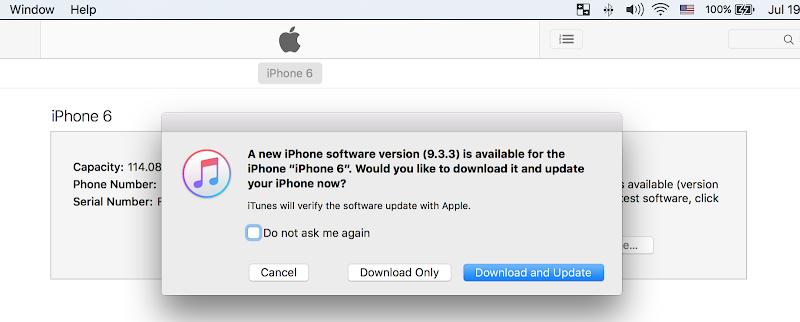 iOS 9.3.3 IPSW Download