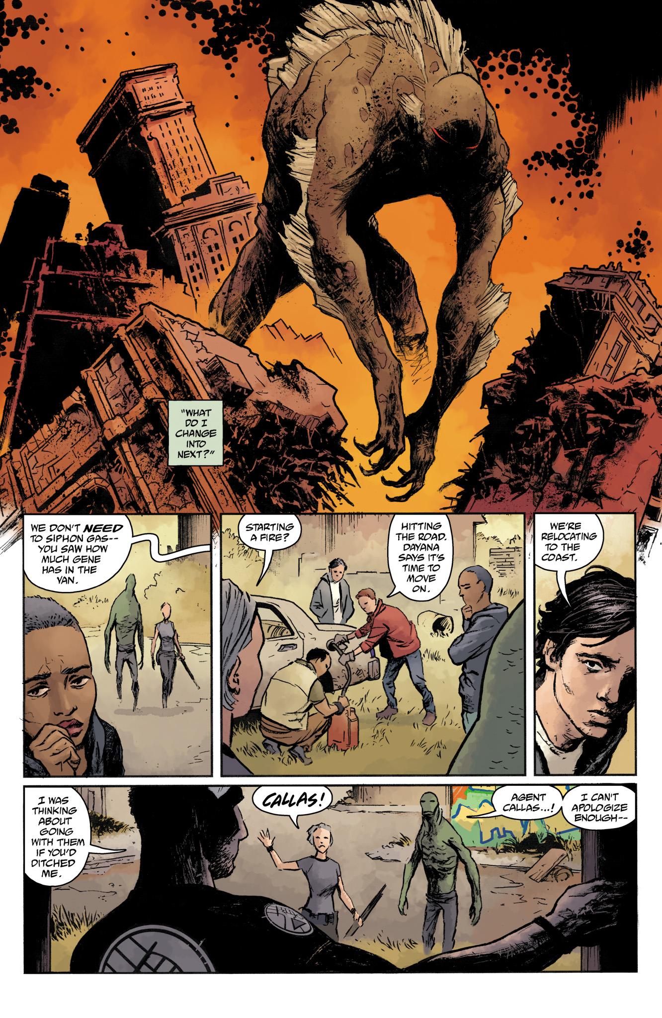 Read online Abe Sapien comic -  Issue #17 - 20