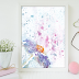 ↣ FREE Watercolor - Simple Flower Watercolor Art
