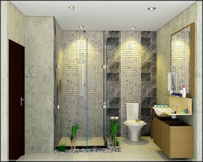 Foto Desain Kamar Mandi Hotel Minimalis