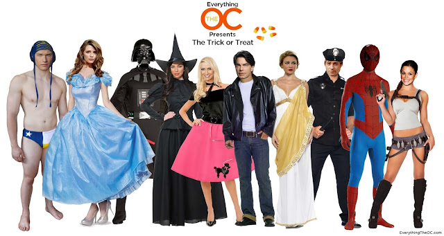 click to enlarge full O.C. Halloween group The Trick or Treat