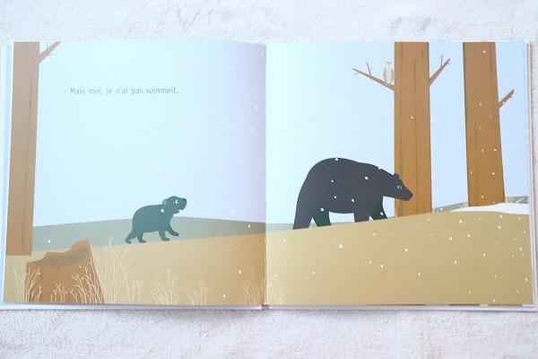 livre pour enfant sur le thème de l'hiver