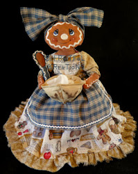 Gingerbread Tissue Cover Doll Pattern (Pdf)