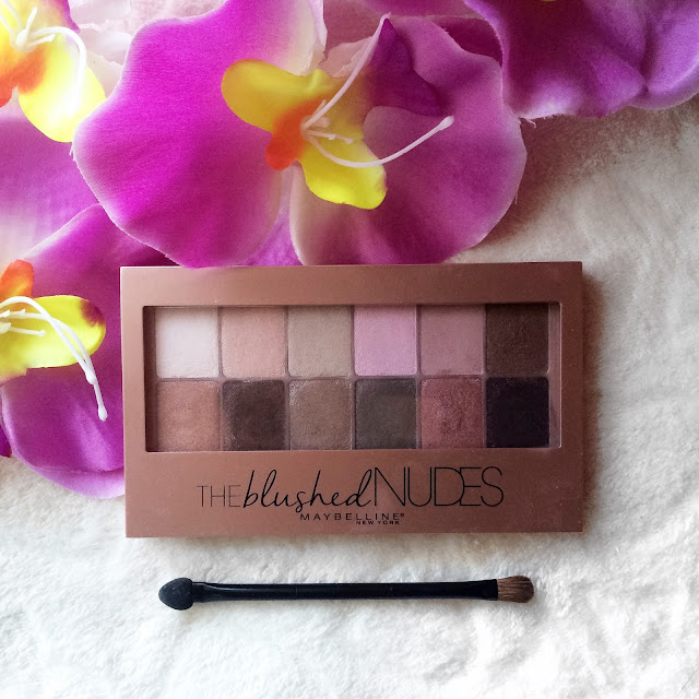 review and swaches_The Blushed Nudes by Maybelline