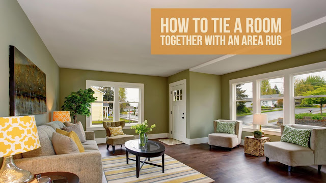Learn what a good area rug can do for your room -- no decorating skills needed. Here's how to tie a room together with a rug.