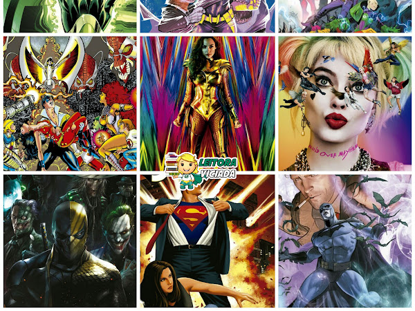 Lançamentos: Panini Comics - DC Comics e Vertigo