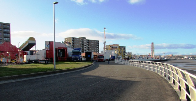 The Esplanade, Kirkcaldy and the Links Market